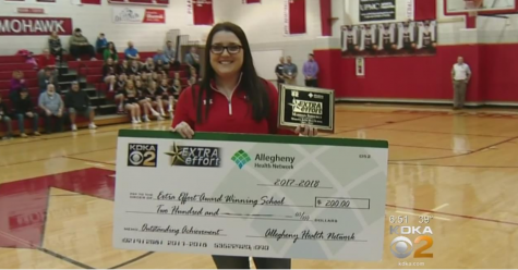 Madison Shiderly's KDKA Award Win