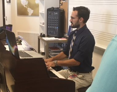 New Music, New teacher!