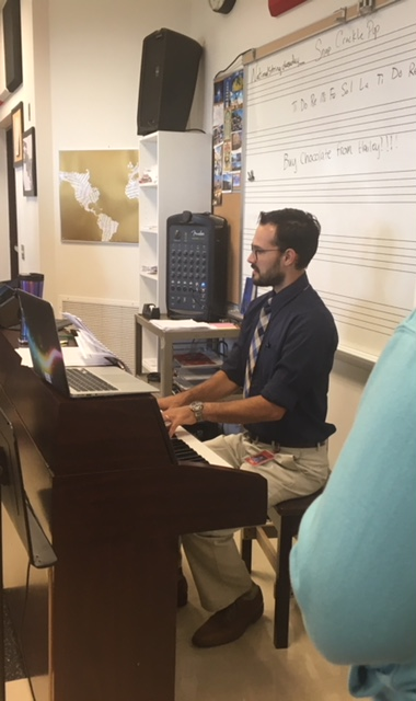 New Music, New teacher!