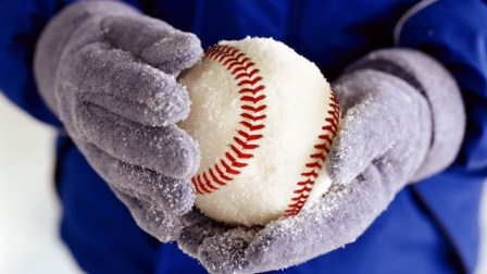 Baseball Still Going Strong in the Winter